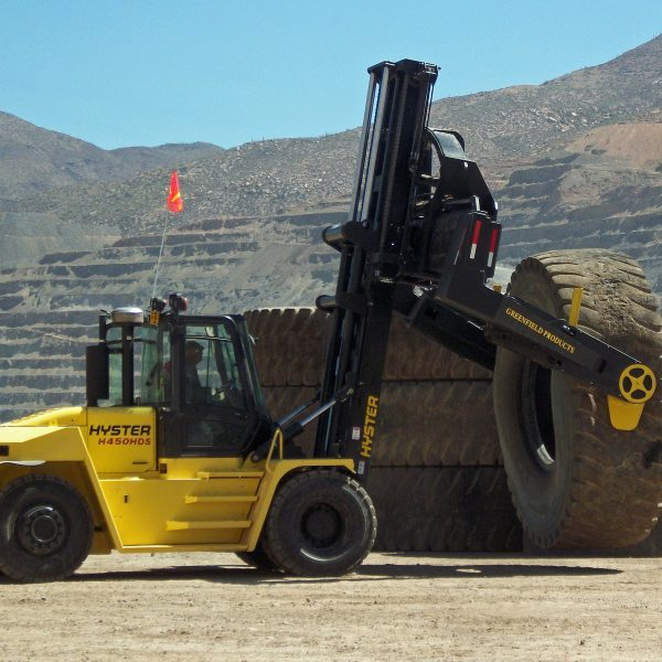 TH22 tyre handler from Greenfield Handlers