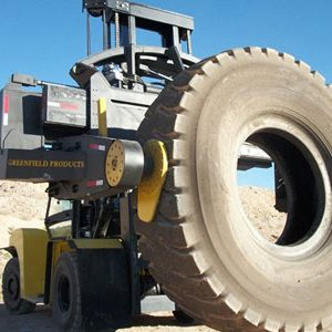 TH35 tyre handler from Greenfield Handlers
